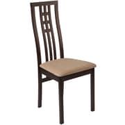 Flash Furniture Polyester Dining Chair Espresso (ESCB2481YBHEBGE)