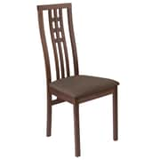Flash Furniture Polyester Dining Chair Walnut (ESCB2481YBHWGH)