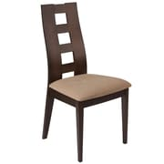Flash Furniture Polyester Dining Chair Walnut (ESCB3904YBHWBGE)
