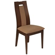 Flash Furniture Polyester Dining Chair Walnut (ESCB3905YBHWBGE)
