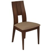 Flash Furniture Polyester Dining Chair Walnut (ESCB3906YBHWCR)