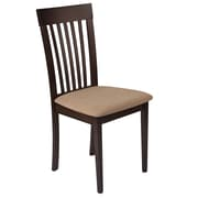Flash Furniture Polyester Dining Chair Espresso (ESCB3950YBHEBGE) by