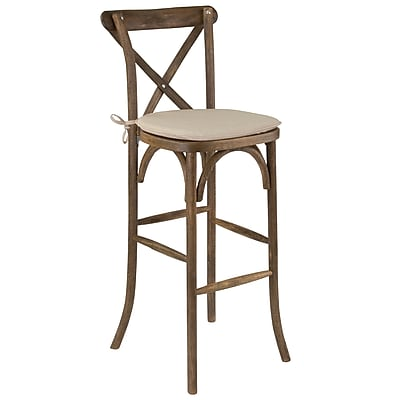 Flash Furniture Wood Barstool Dark Antique (XAXBARGOBC)