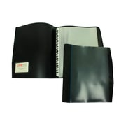 "JAM Paper® Smart View Presentation Book, 8.5"" x 11"", Black, 12 Pages Per Book, Sold Individually (78910215142)"