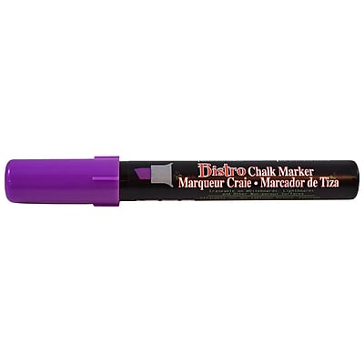 JAM Paper® Markers, Chisel Tip Chalk Marker, Purple, Sold Individually (526483PU)