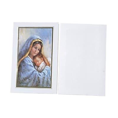 JAM Paper® Christmas Card Set, Modern, Virgin Mary, 10/Pack (8156225)