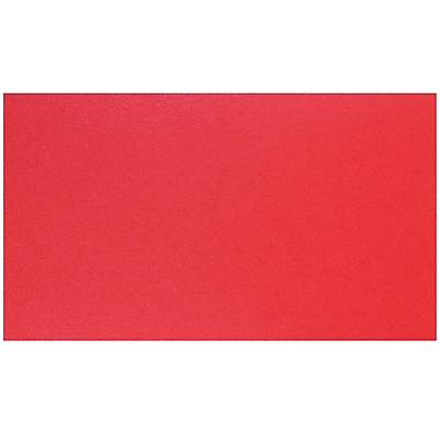 JAM Paper® Blank Note Cards, 2 x 3.5, Jupiter Red Stardream, 100/Pack (17534142)