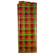JAM Paper® Holiday Tissue Paper, Plaid Gold, 3/Pack (11834123)