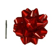 "JAM Paper® Gift Bows, Mega, 13"" Diameter, Red, Sold Individually (2167013381)"