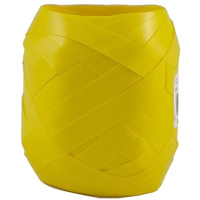 """JAM Paper® Curling Ribbon Egg, 3/8"""" x 66 Ft. per Ribbon Egg, Jumbo Yellow, 6/Pack (240316952a)"""