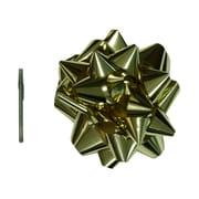 "JAM Paper® Gift Bows, Mega, 13"" Diameter, Gold, Sold Individually (2167013382)"