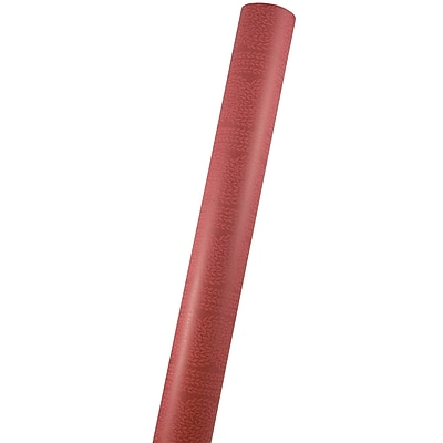 JAM Paper® Christmas Wrapping Paper Rolls, 25 Sq. Ft., Red Ivy Kraft Paper, Sold Individually (165534085)