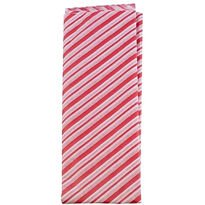 JAM Paper® Holiday Tissue Paper, Red and White Stripes, 8/Pack (11834078)