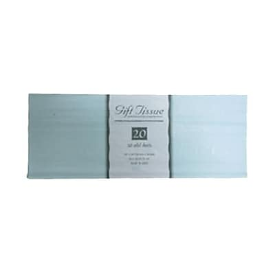 JAM Paper® Tissue Paper, Baby Blue, 20 Sheets/Pack (1157002)