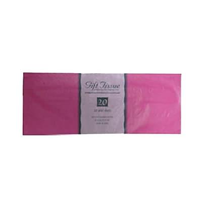 JAM Paper® Tissue Paper, Fuchsia, 20 Sheets/Pack (1157005)