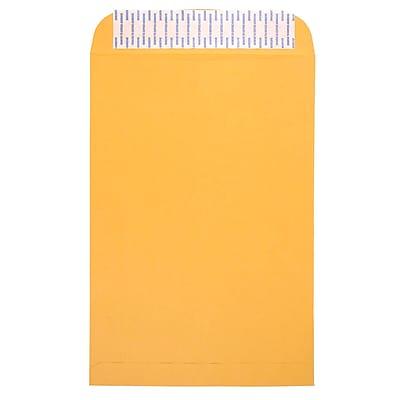 """JAM Paper® Brown Kraft Envelopes w/ Peel & Seal Closure, 10"""" x 15"""", 500/Box (13034234c)"""
