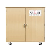 """Diversified Woodcrafts Robot Storage Cabinet for Vex Tote Trays, 48"""" W x 24"""" D x 53"""" H (VXT-5024M)"""