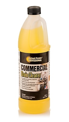 Instant Power Professional Commercial Drain Cleaner 1 Liter