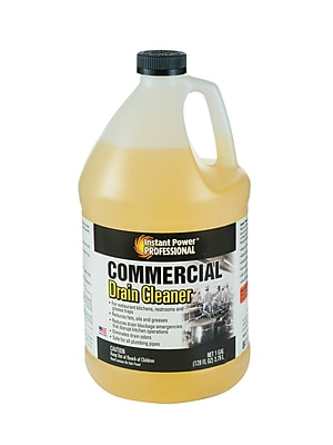 Instant Power Professional Commercial Drain Cleaner 1 Gallon