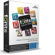 Summitsoft Creative Font Collection for Windows (1 User) [Download]