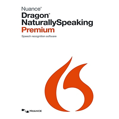 Nuance Dragon Premium 13 for Windows (1 User) [Download]