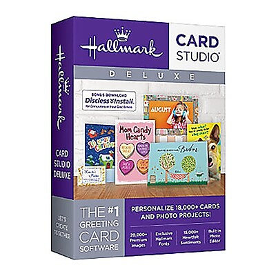 Hallmark Card Studio Deluxe 2018 for Windows (1 User) [Download]