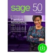 Sage 50 Premium Accounting 2018 U.S. 1-User for Windows (1 User) [Download]