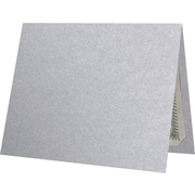 "LUX Certificate Holders, 9 1/2"" x 11"", Silver Metallic, 50/Pack (CH91212-M06-50)"