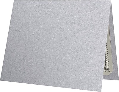 "LUX Certificate Holders, 9 1/2"" x 11"", Silver Metallic, 250/Pack (CH91212-M06-250)"