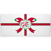 "LUX Currency Envelopes, A Gift To You on White, 2-7/8"" x 6-1/2"", 50/Pack (CUR0070WGTY50)"