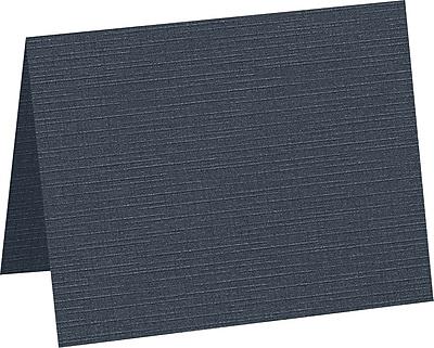 "LUX A2 Folded Card, 4-1/4"" x 5-1/2"", Nautical Linen, 50/Pack (5010-BULI-250)"