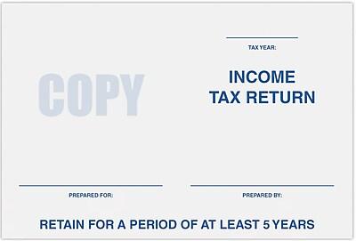 LUX 6 x 9 Tax Return Booklet Envelopes 500/Pack, 24 lb. Bright White (11874-TAX-500)