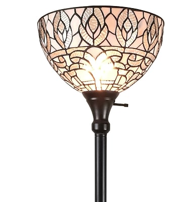 Amora Lighting Leaves and Berries Mini-Table Lamp 10