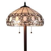 "Amora Lighting Reading Lamp, White, 62""H x 12""W Shade (AM121FL12)"