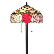 "Amora Lighting Reading Lamp, Multi-Colored, 62""H x 11""W Shade (AM272FL11)"
