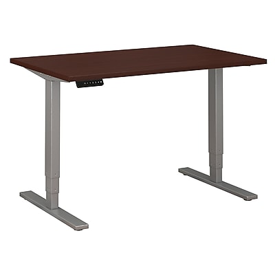 Move 80 Series by Bush Business Furniture 48W x 30D Height Adjustable Standing Desk, Harvest Cherry (HAT4830CSK)