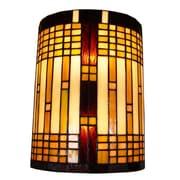 "Amora Lighting Floor Lamp, Multi-Colored, 61""H x 16""W Shade (AM1072FL16)"