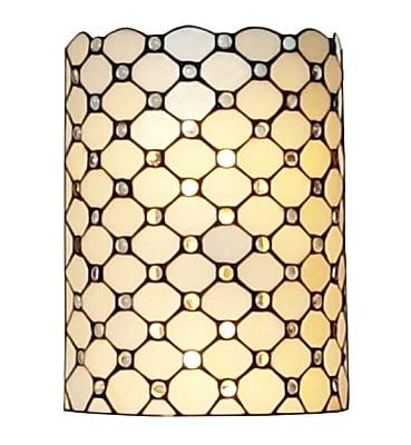 Amora Lighting Floor Lamp, White, 61