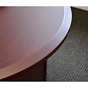 "LifeFlo Ergonomics Height Adjustable Desk, 36""W x 24""D x 1 1/8"" Thick, Maple (LFO-3624-E2-MA)"