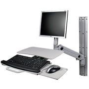 "LifeFlo Ergonomics Fluid LT Workstation, 32"" Track,  8"" - 41.9""D x 19.25""W (LFO-124041S32)"