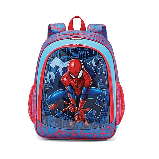 American Tourister Marvel Spiderman, Multicolor, Polyester, Backpack, Small (108918-5059)