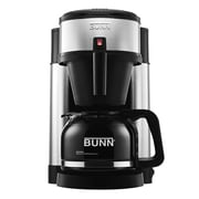 Refurbished BUNN NHS-RB 10-Cup Velocity Brew Coffee Brewer, Black, Stainless Steel