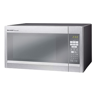 Refurbished Sharp 1.8 Cu. Ft. 1100 Watts Microwave Oven Stainless Steel (R551ZM-RB)