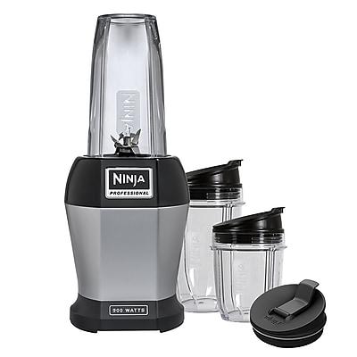Ninja Refurbished 900 Watts Blender Black/Silver (BL451-RB)