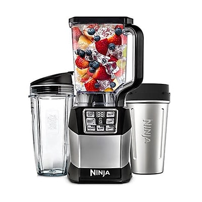 Ninja Refurbished 1200 Watts Blender - Black/ Silver (BL490-RB)