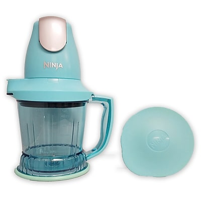 Ninja Refurbished 450 Watts Prep Blender-Turqoise (QB751QTQ-RB)