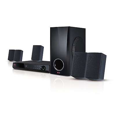 LG Electronics BH5140-RB Refurbished Blu-Ray Home Theater System, 500 W, Black 24288214