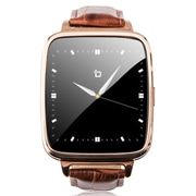 Bit Refurbished Smart Watch with Brown Leather Strap (S1G-RB)