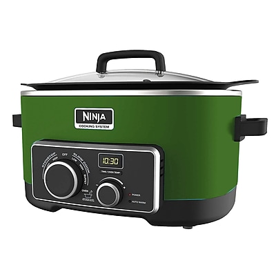 Ninja 6 QT Refurbished 4 IN 1 SLOW COOKER in Green (MC900QGN-RB)