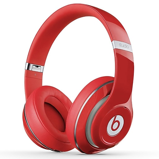 1d29fc62dbe Beats by Dr. Dre STUDIO2WIREDR Studio 2 Wired Headphones, Red.  https://www.staples-3p.com/s7/is/